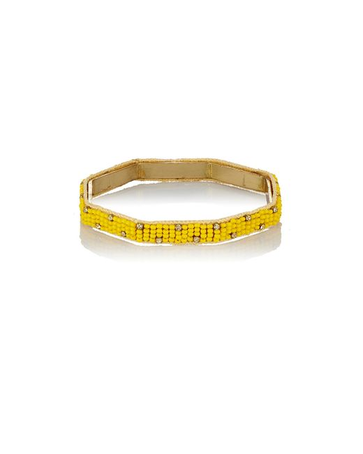 Chamak by Priya Kakkar | Yellow Dale Bangle | Lyst