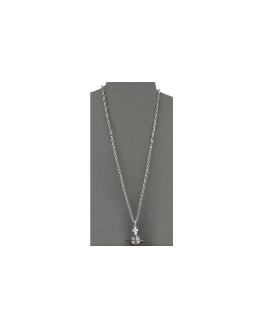 Vivienne Westwood | Metallic New Small Orb Pendant | Lyst