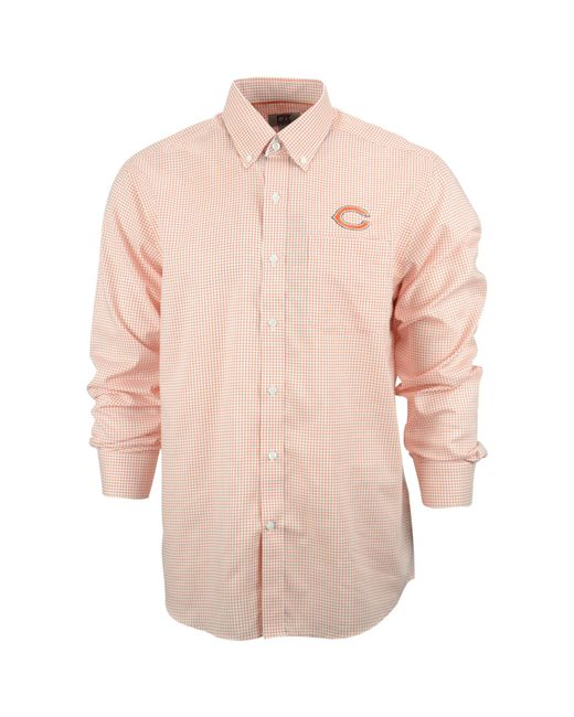 cutter buck men 39 s chicago bears tattersall dress shirt