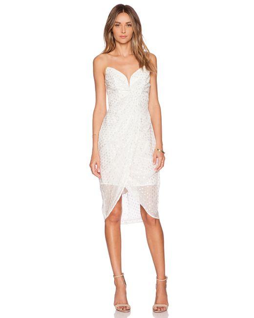 Zimmermann | White Seer Twist Dress | Lyst