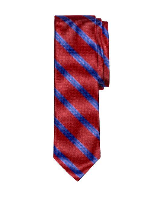 Brooks Brothers | Red Bb#1 Stripe Slim Tie for Men | Lyst