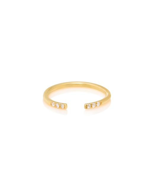 Jennie Kwon | Yellow White Equilibrium Cuff Ring | Lyst