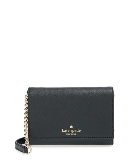 Kate Spade | Black 'Cedar Street - Cami' Crossbody Bag | Lyst