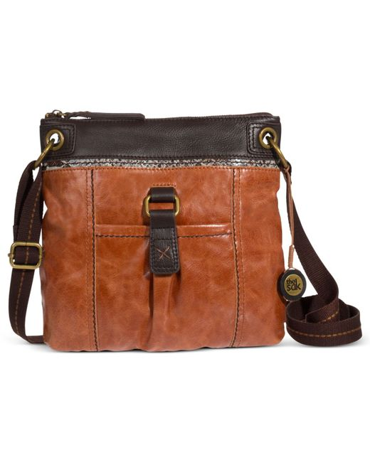 The Sak | Multicolor Kendra Leather Crossbody | Lyst