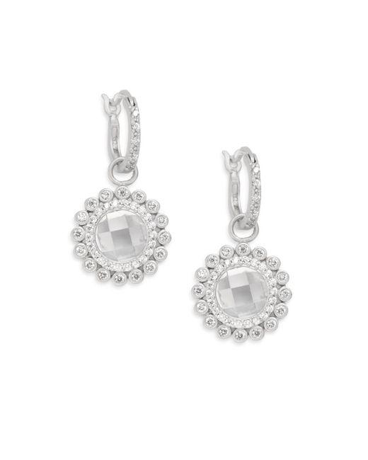 Freida Rothman   Metallic Luxure Wildflower Drop Earrings   Lyst
