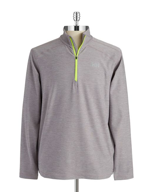 Helly Hansen | Gray Vtr Half Zip for Men | Lyst