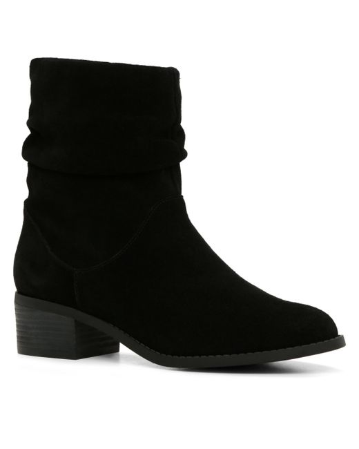 ALDO | Black Isidora Zip Ankle Boot | Lyst