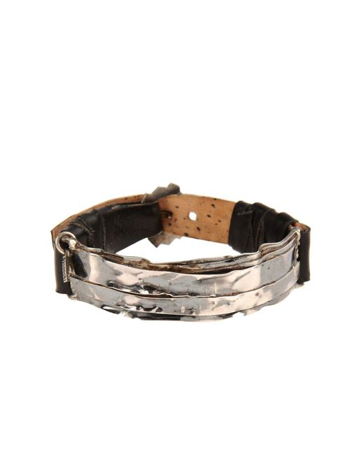 Emanuele Bicocchi | Metallic Bracelet for Men | Lyst