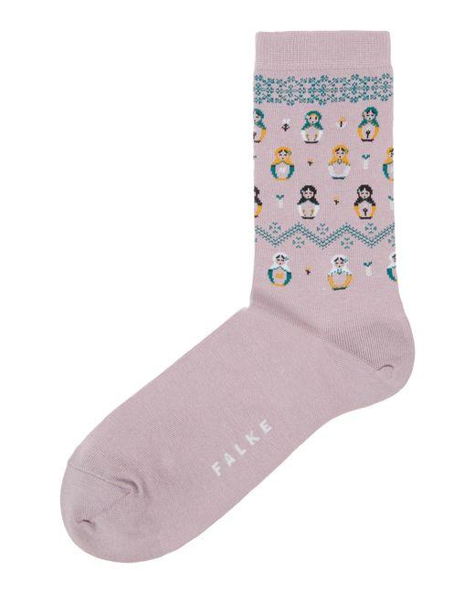 Falke   Pink Russian Doll Ankle Socks   Lyst