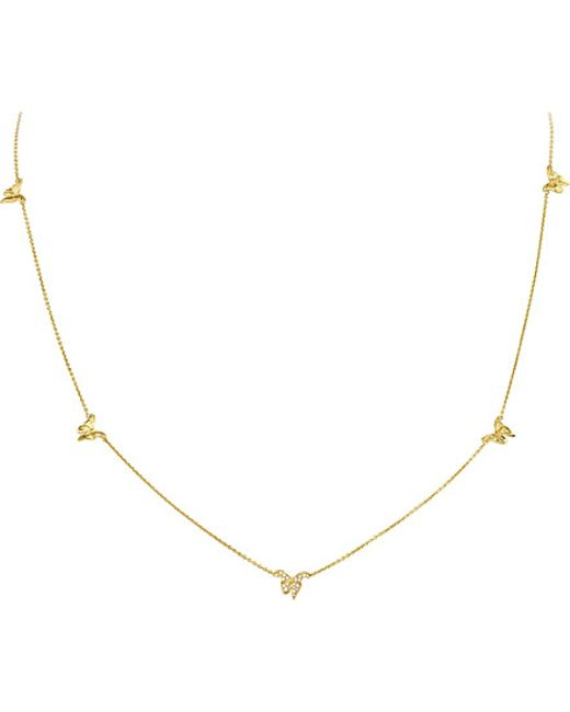 Georg Jensen | Metallic Askill 18ct Yellow-gold And Diamond Necklace | Lyst