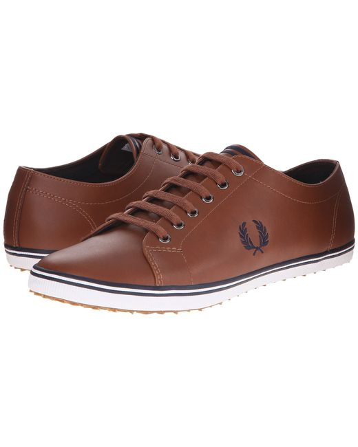 Fred Perry | Brown Kingston Leather for Men | Lyst