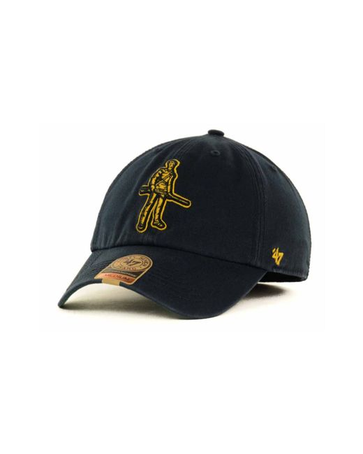 47 Brand | Blue West Virginia Mountaineers Franchise Cap for Men | Lyst