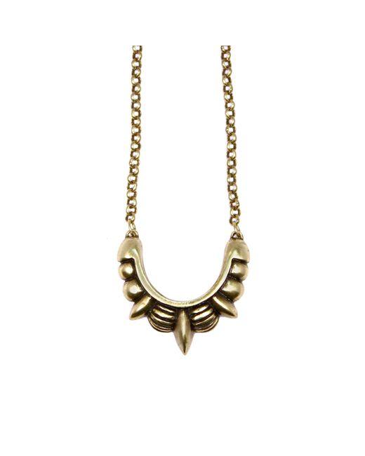 Pamela Love   Metallic Small Spike Necklace   Lyst