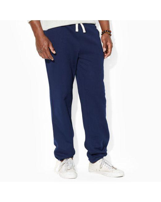 Polo Ralph Lauren | Blue Cotton-blend-fleece Pant for Men | Lyst