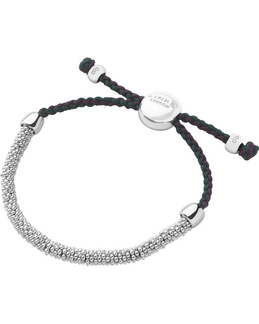 Links of London | Metallic Wimbledon Effervescence Extra-small Cord Bracelet | Lyst