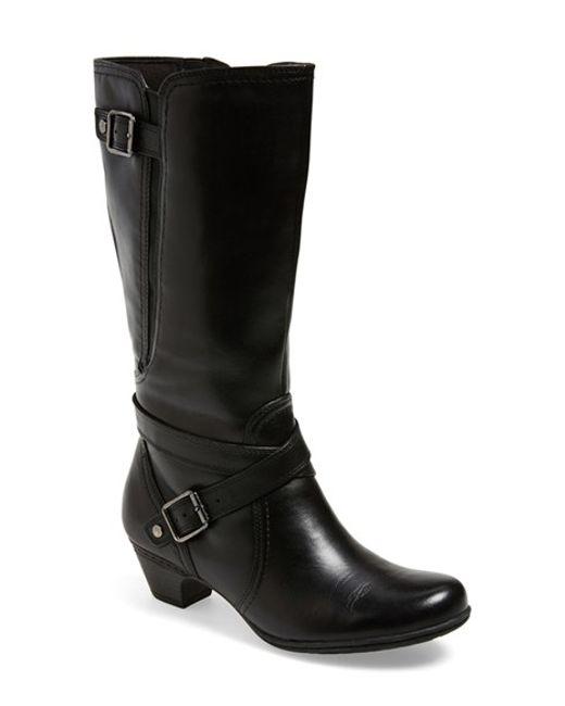 Cobb Hill | Black 'ashlyn' Tall Boot | Lyst
