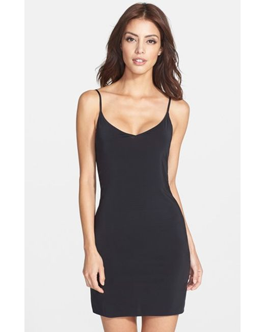 Yummie By Heather Thomson | Black Della A-line Slip | Lyst