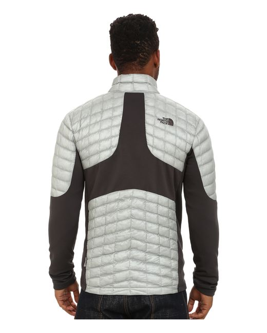 The North Face | Gray Momentum Thermoball™ Hybrid Jacket for Men | Lyst