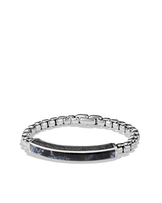 David Yurman | Metallic Exotic Stone Id Bracelet With Pietersite for Men | Lyst