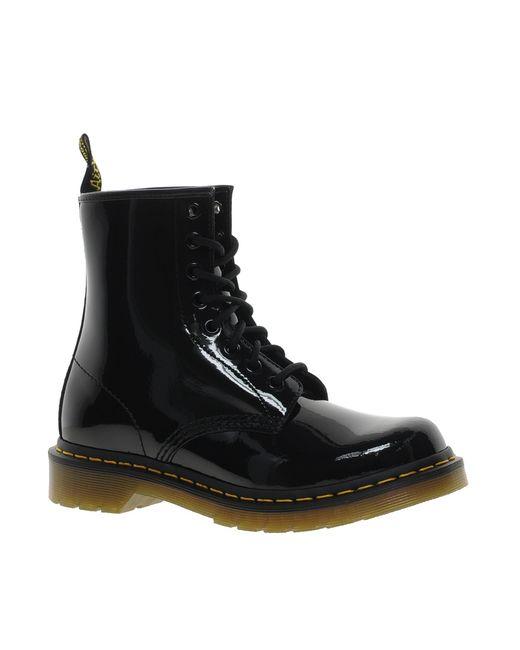 Dr. Martens   Black Modern Classics 1460 Patent 8-eye Boots   Lyst
