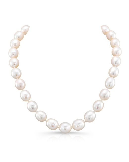 Anne Sisteron | White Pearl Choker Necklace With Clasp | Lyst