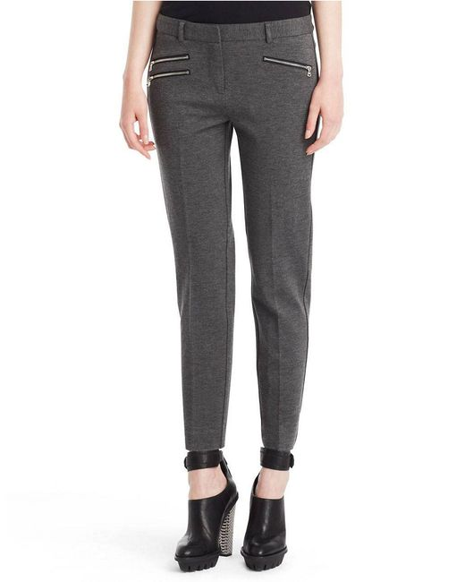 Kenneth Cole | Gray Alison Slim Fit Pants | Lyst