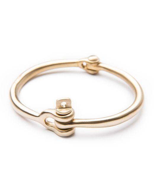 Miansai | Metallic Reeve Brass Bracelet | Lyst