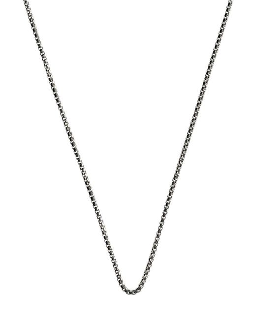 Links of London | Metallic Mens Soho 2mm Curb Chain for Men | Lyst
