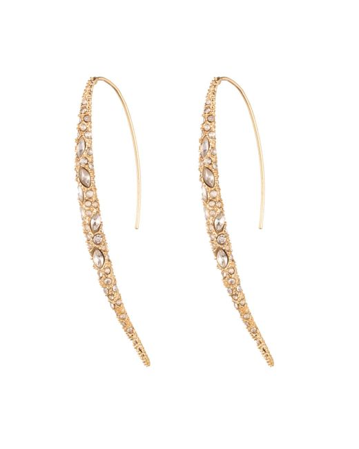 Alexis Bittar | Metallic Asymmetric Marquise Lucite Clip-On Earrings | Lyst