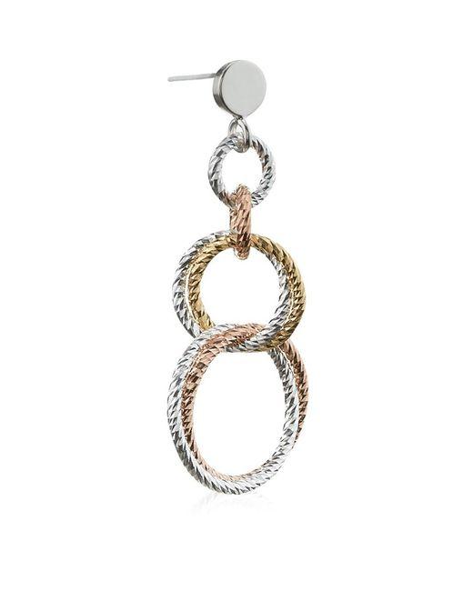 Links of London   Metallic Aurora Double Link Earrings   Lyst