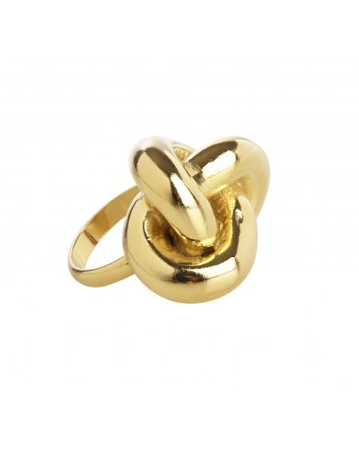 Rachael Ruddick | Metallic Nautical Knot Ring | Lyst