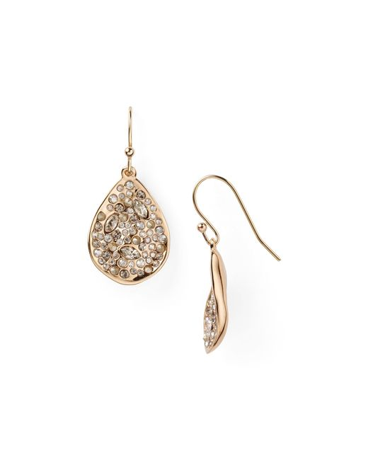 Alexis Bittar | Pink Miss Havisham Crystal Encrusted Drop Earrings | Lyst