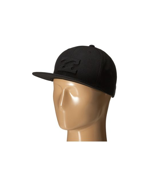 Billabong | Black All Day Snapback Hat for Men | Lyst