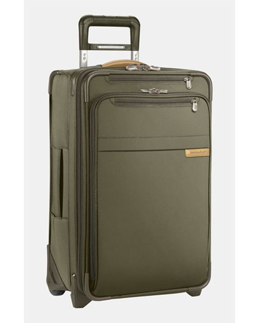 Briggs & Riley | Green 'baseline' Domestic Expandable Rolling Carry-on for Men | Lyst
