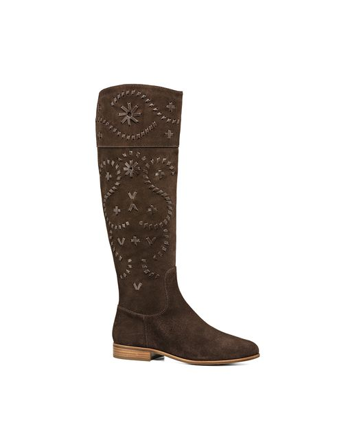 Jack Rogers | Brown Tara Suede Riding Boot | Lyst