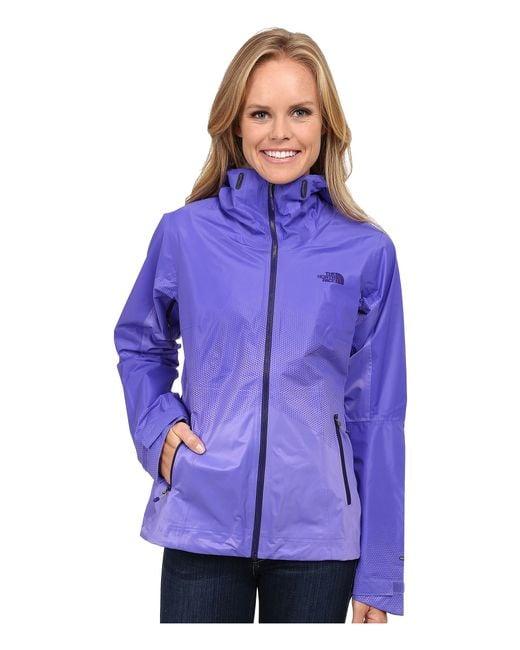 The North Face | Purple Fuseform™ Dot Matrix Jacket | Lyst