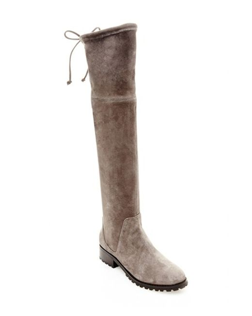 blondo snow the knee waterproof boot in brown