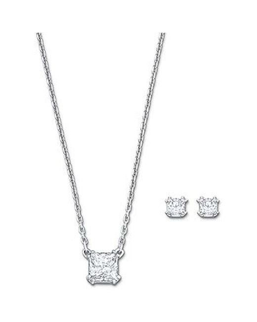 Swarovski | Metallic Attract Set | Lyst