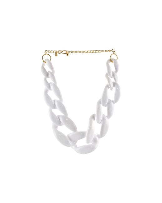 Kenneth Jay Lane | White The Housewives Go To Necklace | Lyst