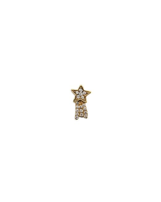 Loquet London | Metallic 18k Yellow Gold Diamond Shooting Star Charm - Make A Wish | Lyst