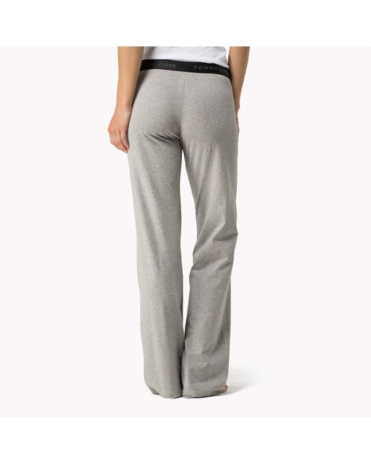 Tommy Hilfiger | Gray Iconic Sweatpants | Lyst