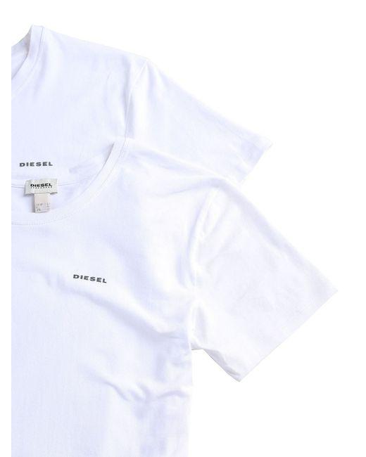 DIESEL   White Umtee-randal2pack for Men   Lyst