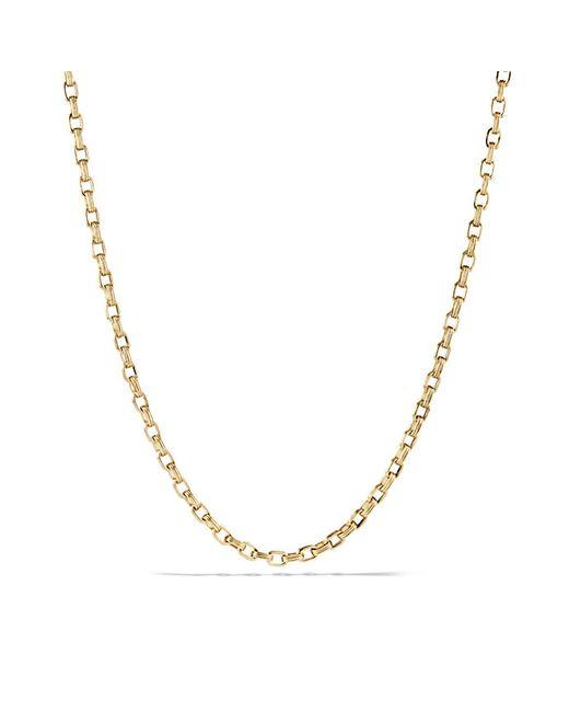 David Yurman | Metallic Chain Necklace In 18k Gold for Men | Lyst