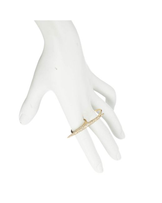 Alexis Bittar | Metallic Two Finger Spear Ring You Might Also Like | Lyst