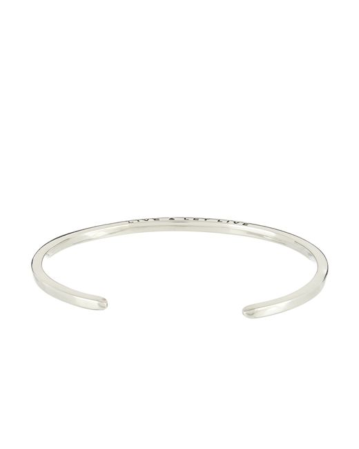 Zadeh | Metallic Malo Sterling-Silver Cuff for Men | Lyst
