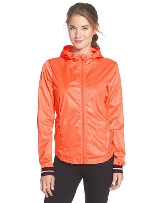 Under Armour   Orange 'storm' Water Repellent Zip Jacket   Lyst