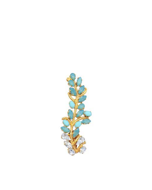 Joanna Laura Constantine | Metallic Crystals Earring | Lyst