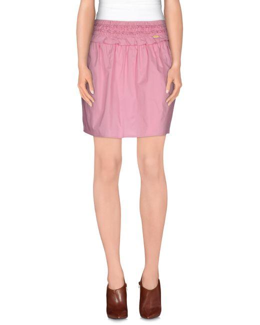 Liu Jo | Pink Mini Skirt | Lyst