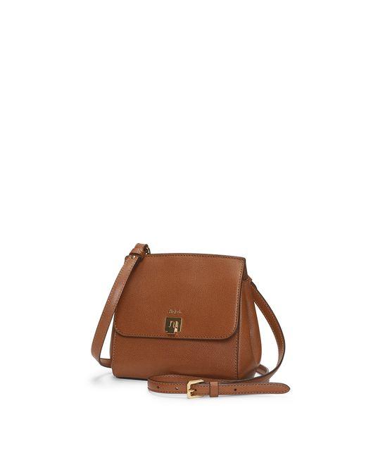 Ralph Lauren | Brown Whitby Leather Cross-body Bag | Lyst