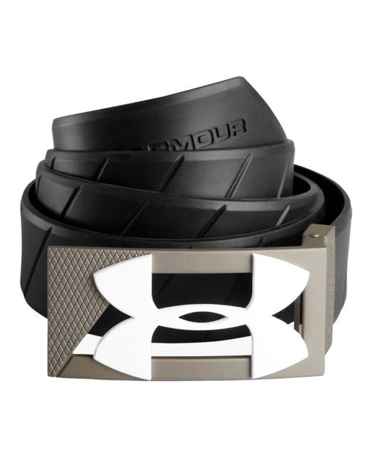 Under Armour | Black Silicone Belt for Men | Lyst